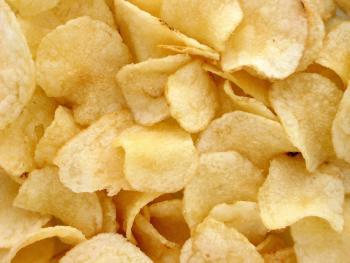 Domácí bramborové chipsy Ládi Hrušky