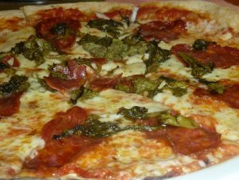 Jogurtová pizza Ládi Hrušky