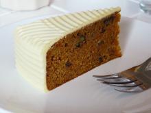 Rodinné stříbro na talíři - Mrkvový dort