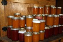 Jablečno zázvorová marmeláda